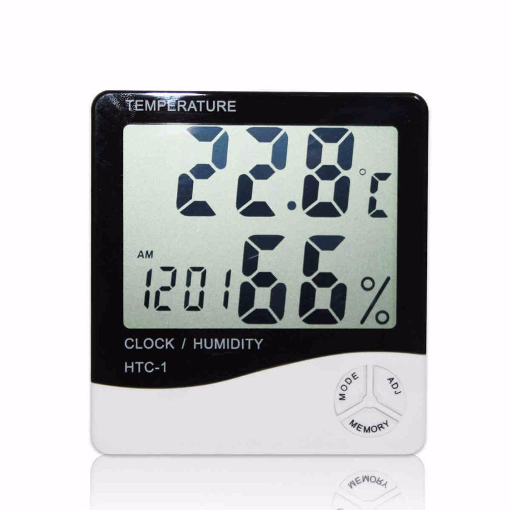Termohigrometro digital medidor de humedad y temperatura for Medidor de temperatura y humedad digital