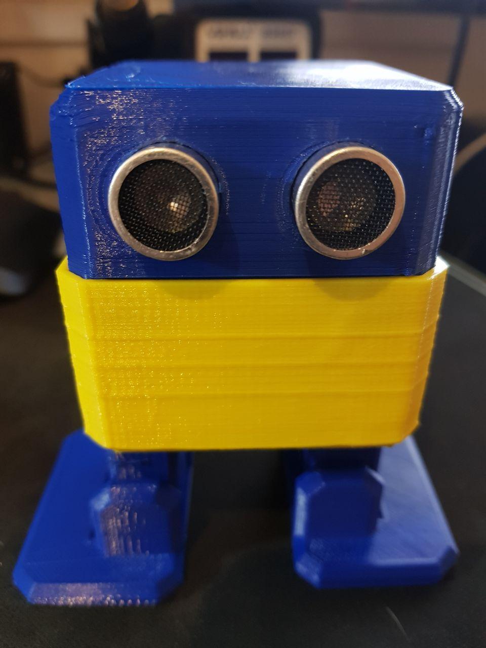 ad0f2911aa5 Kit P/ Armar Robot Otto BOCA Completo Baila Control Arduino – Candy-HO