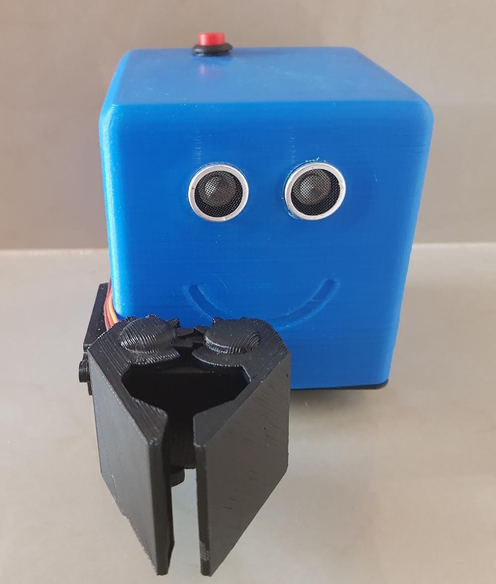 Kit Para armar Robot LITTLEBOT GRIPPER pinza Arduino
