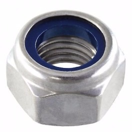 Tuerca Autofrenante Metrica M4 Hexagonal Lock Nut 0.7mm