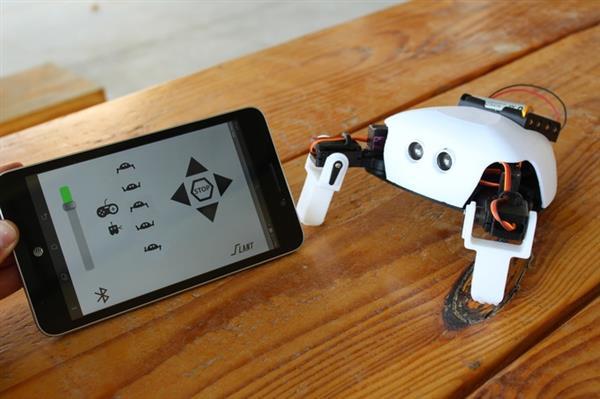 Robot armado Listo para USAR THE CRITTER 2