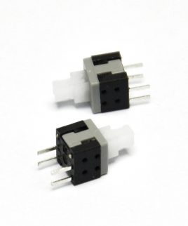 Boton Pulsador Switch Con Retencion 6pin 8.5 X 8.5 Self-lock