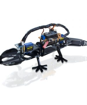 Kit Para Armar Robot Iguana Bionic Diy Lizard Stem Manual