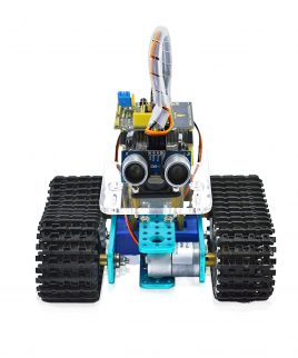 Robot Armado Tanque Inteligente Keyestudio KS0071 Listo Para usar