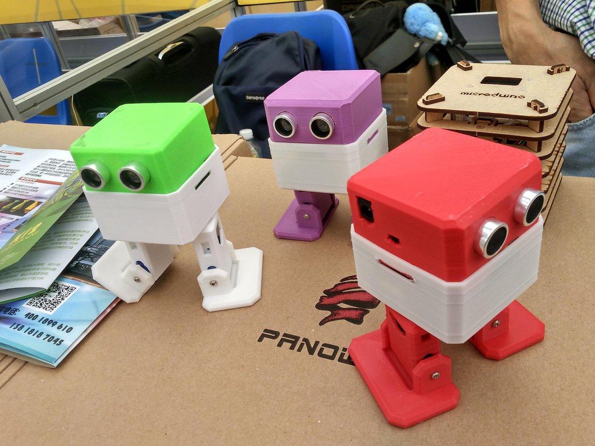 Robot Otto Armado Listo Para Usar Baila Control Cel Arduino 3