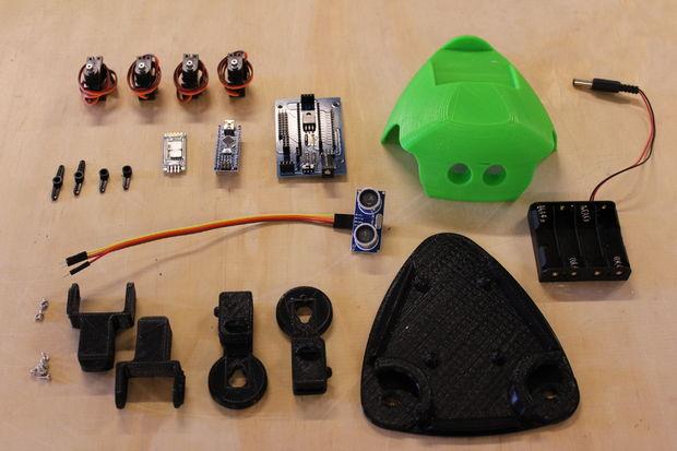 Robot armado Listo para USAR THE CRITTER 3