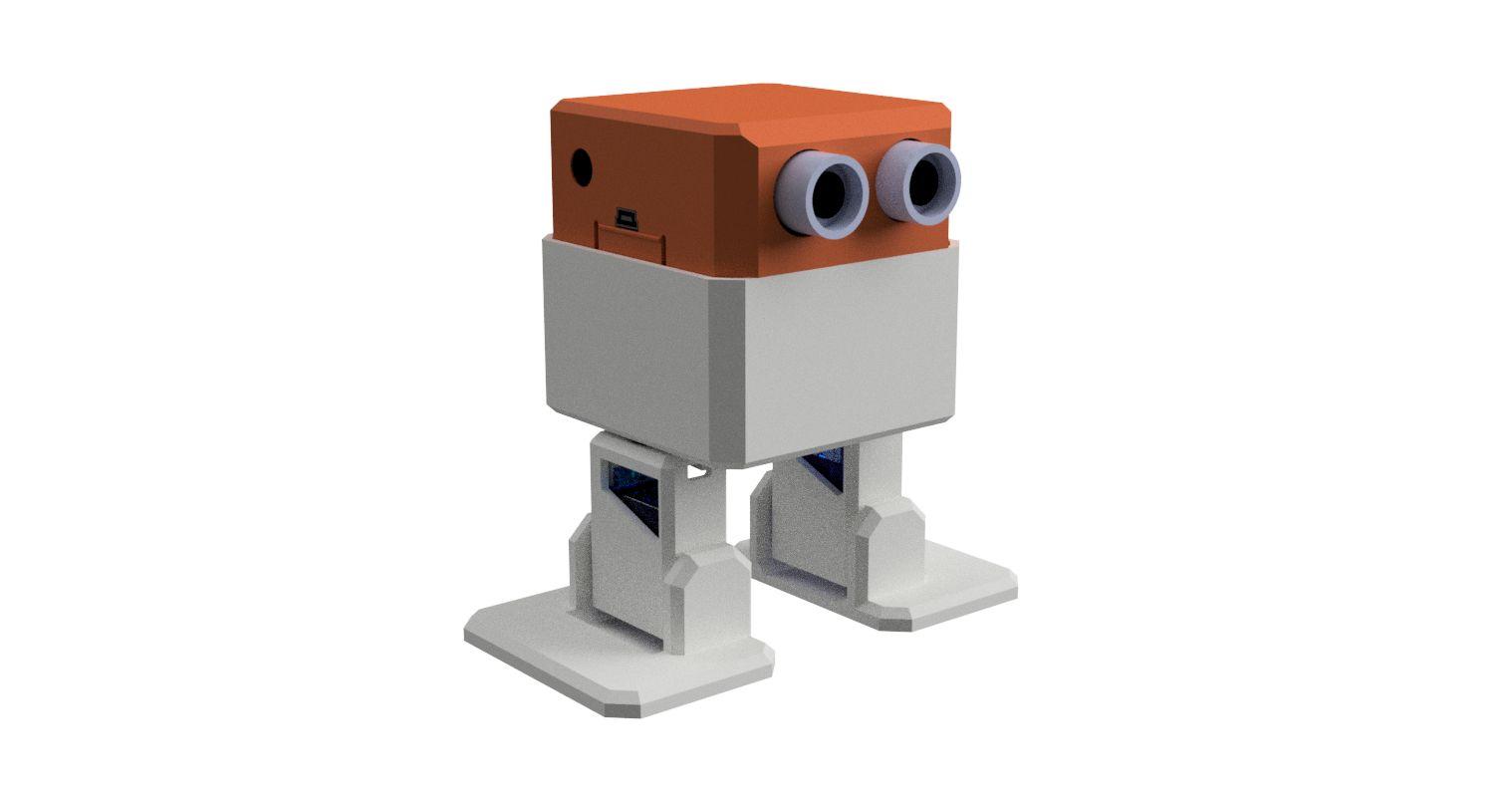 Robot Otto Armado Listo Para Usar Baila Control Cel Arduino 9