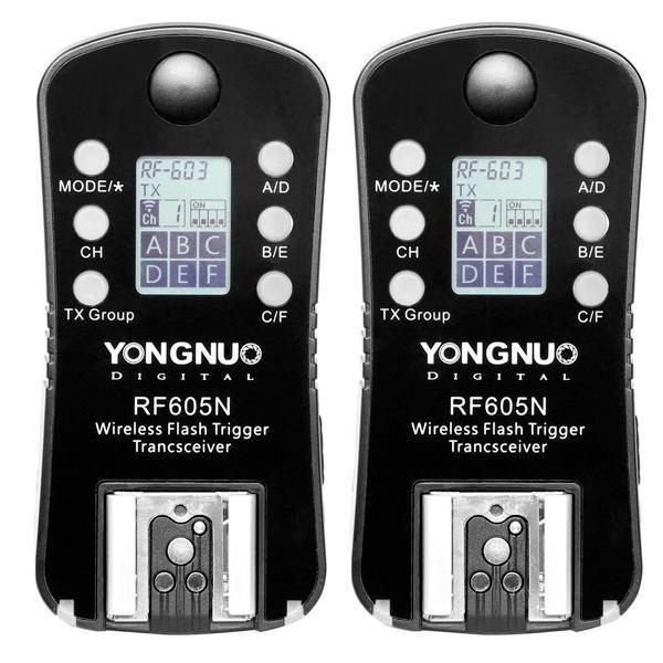 Control-para-Flash-Yongnuo-RF605N-de-2.4GHz-para-Cámaras-Nikon-Negro-1-1-600×600